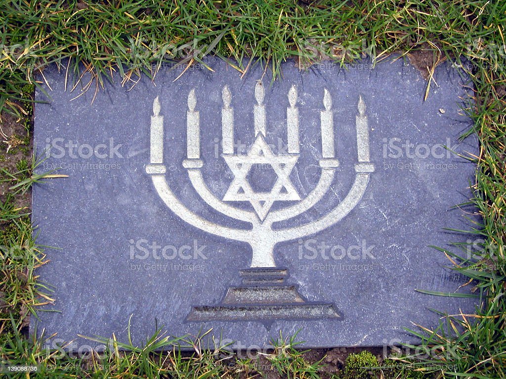 Jewish Marker royalty-free stock photo