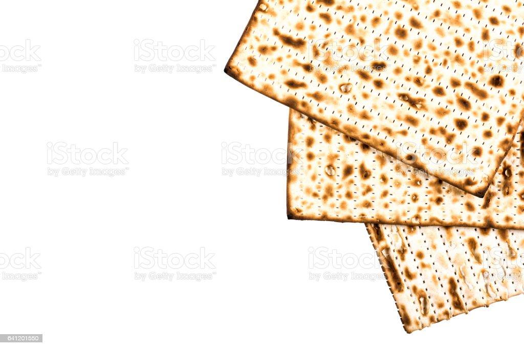 Jüdischen Matza auf Pessach – Foto