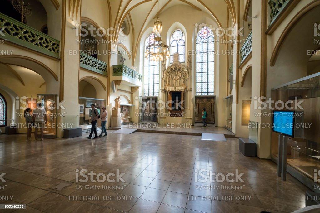 Jewish Museum in Prague royalty-free stock photo