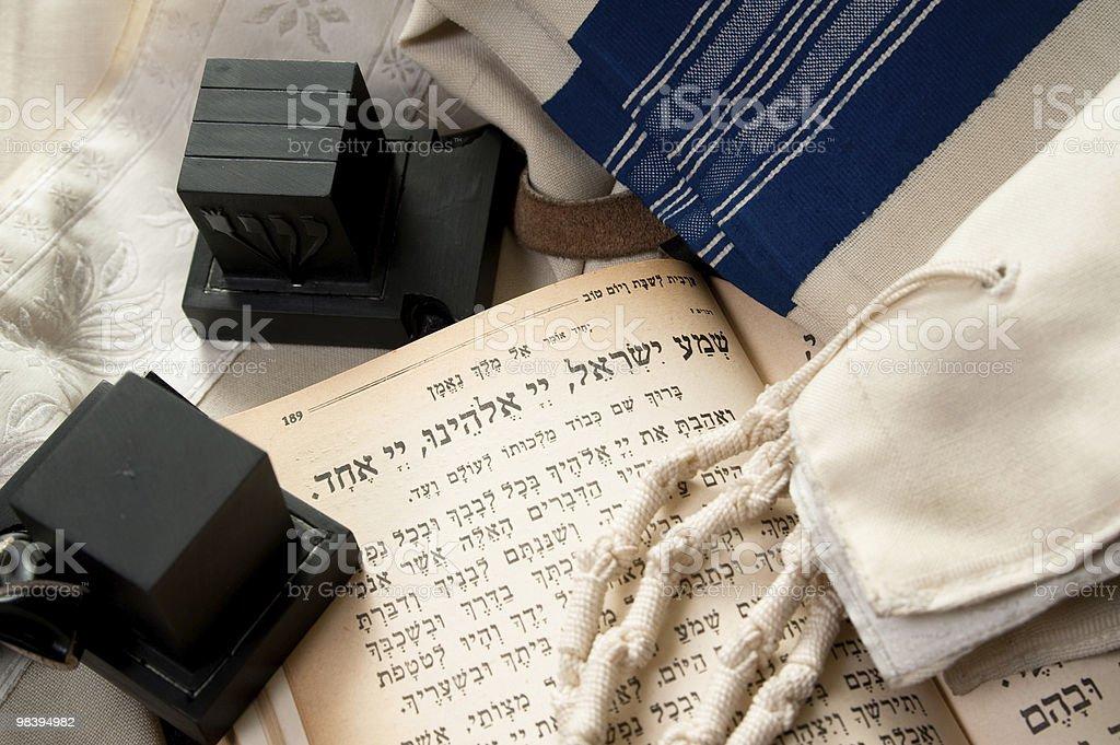 Apparecchiature di preghiera ebraico foto stock royalty-free