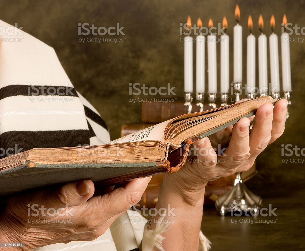 Jewish Prayer royalty-free stock photo