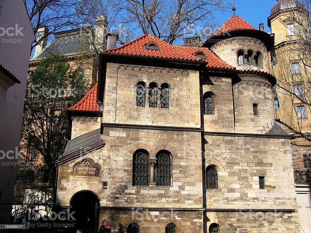 Jewish Quarter in Prague stock photo