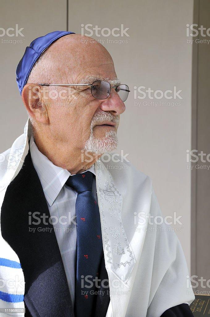 Jewish Senior stock photo