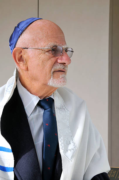 Jewish Senior stock photo