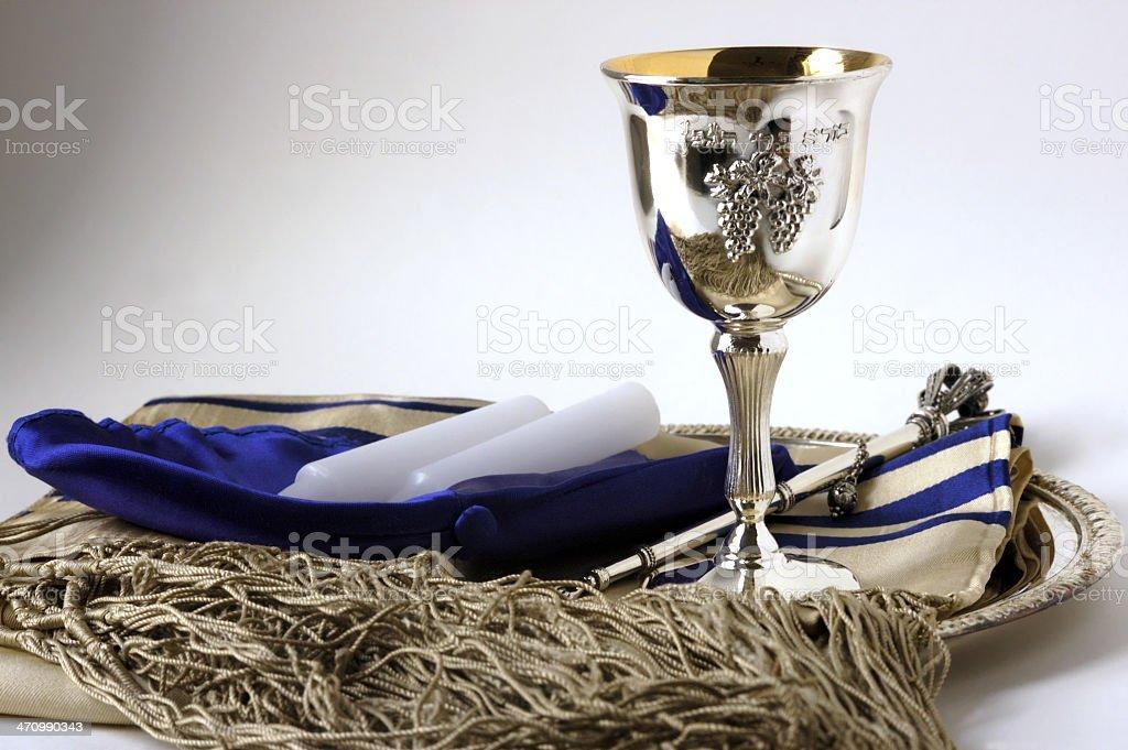 Jewish still life royalty-free stock photo