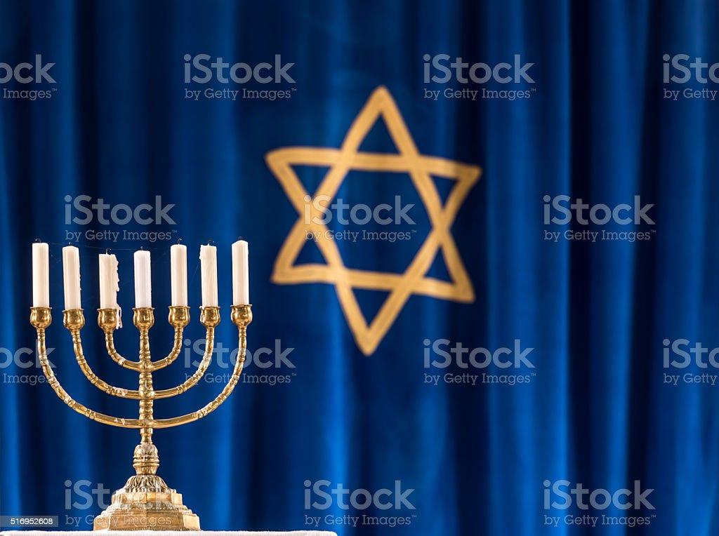 Jewish Symbols. stock photo