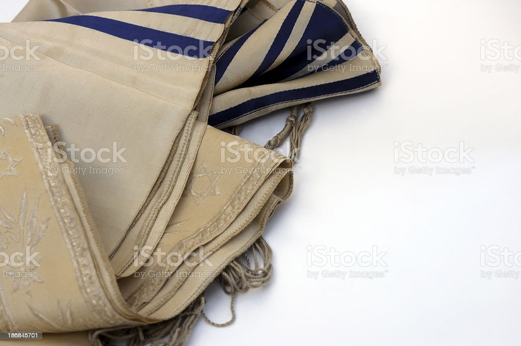 Jewish tallis royalty-free stock photo