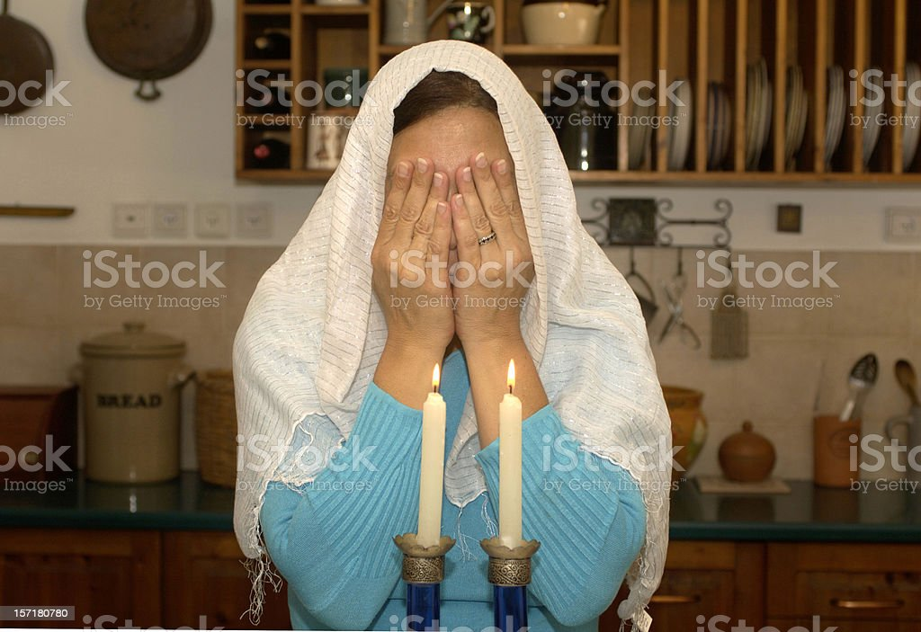 Jewish woman stock photo