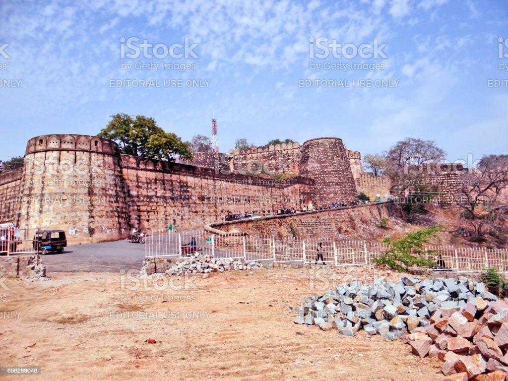 Jhansi Fort stock photo