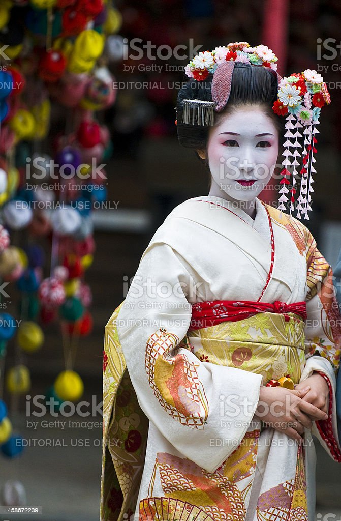 Jidai Matsuri  festival royalty-free stock photo