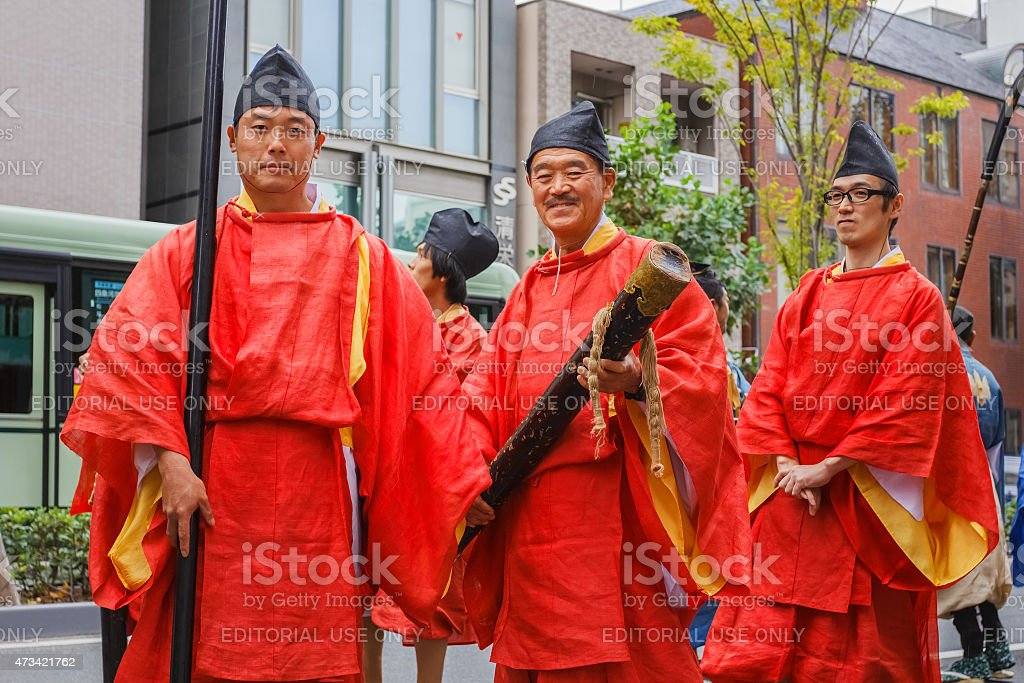Jidai Matsuri in Kyoto, Japan stock photo