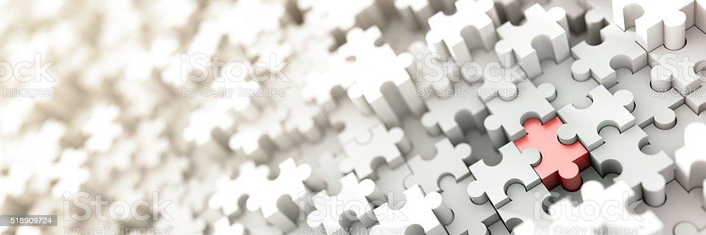 Jigsaw background stock photo