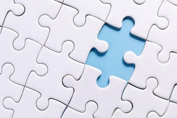 jigsaw - puzzle foto e immagini stock