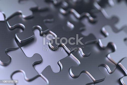 istock Jigsaw Puzzle Background 1061515726