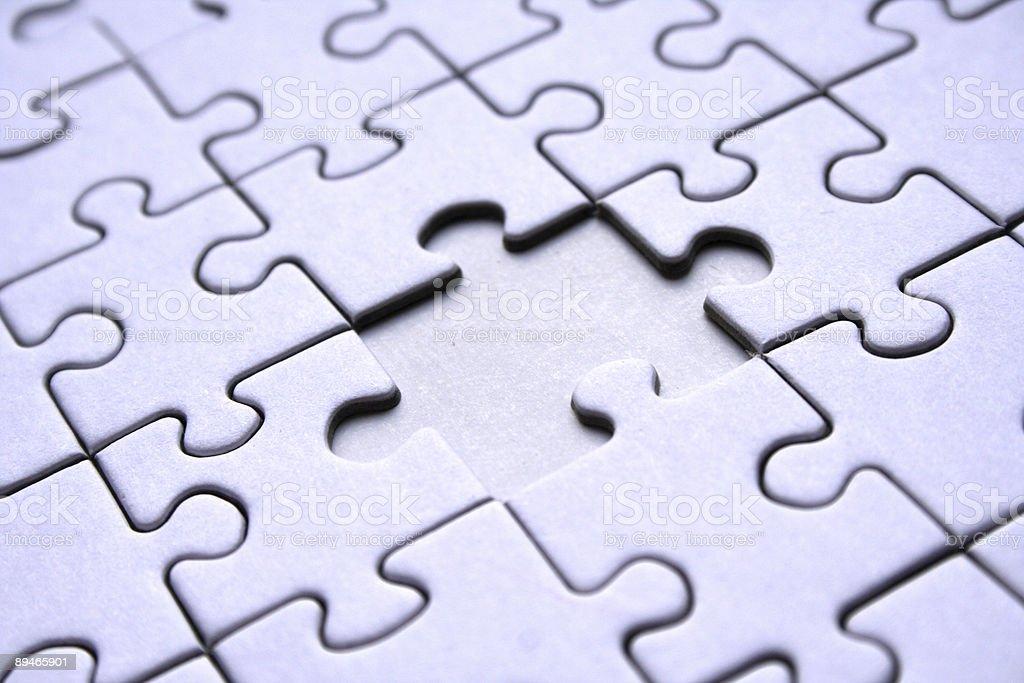 Jigsaw puzzle paternn royalty-free stock photo