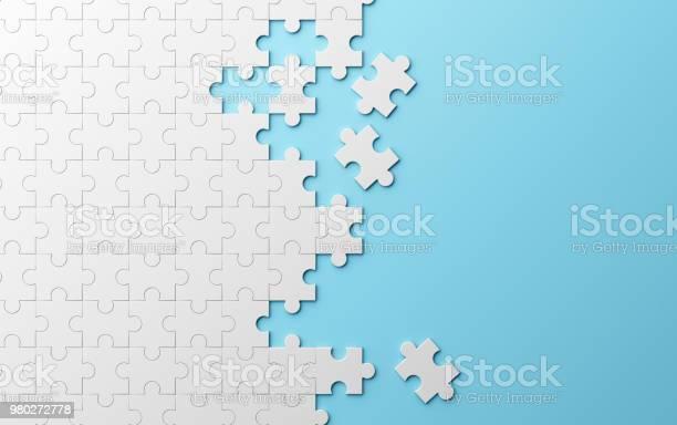 Jigsaw puzzle pattern texture separated on blue background 3d picture id980272778?b=1&k=6&m=980272778&s=612x612&h=evurwwfvarrjmsqccdbynllks9xxyzchucgtgjth 3s=