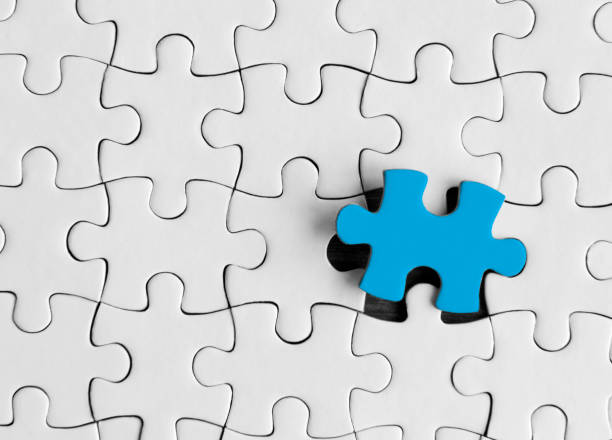 Jigsaw puzzle Puzzle concept puzzle pieces stock pictures, royalty-free photos & images