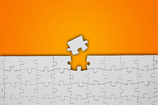 puzzle - puzzleteile stock-fotos und bilder