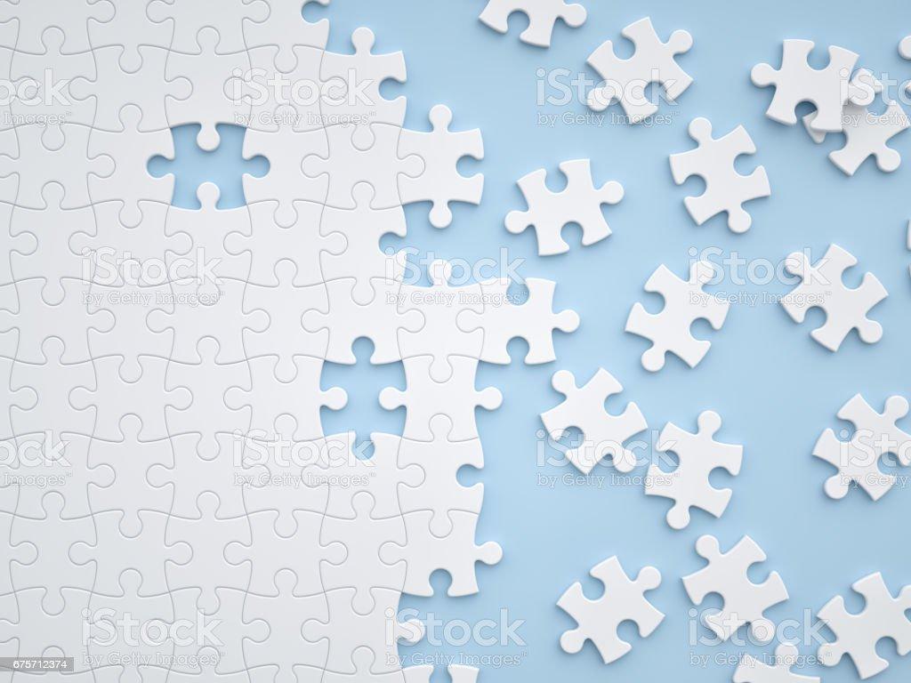 拼圖遊戲 免版稅 stock photo