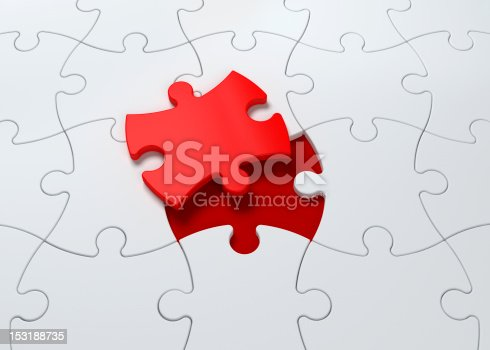 istock Jigsaw Puzzle Piece Solution 153188735