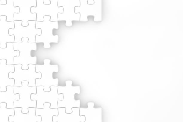 Jigsaw puzzle pieces, Leadership and teamwork concept background Puzzle, Jigsaw Puzzle, Solution, Business, Teamwork puzzle pieces stock pictures, royalty-free photos & images