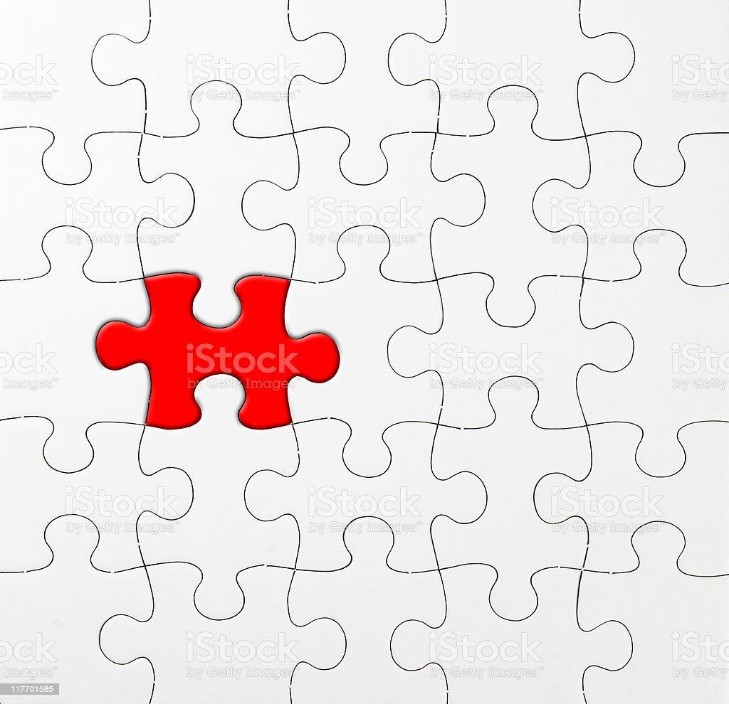 Jigsaw series royalty-free stock photo