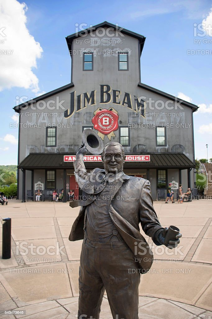 Jim Beam Distillery stock photo