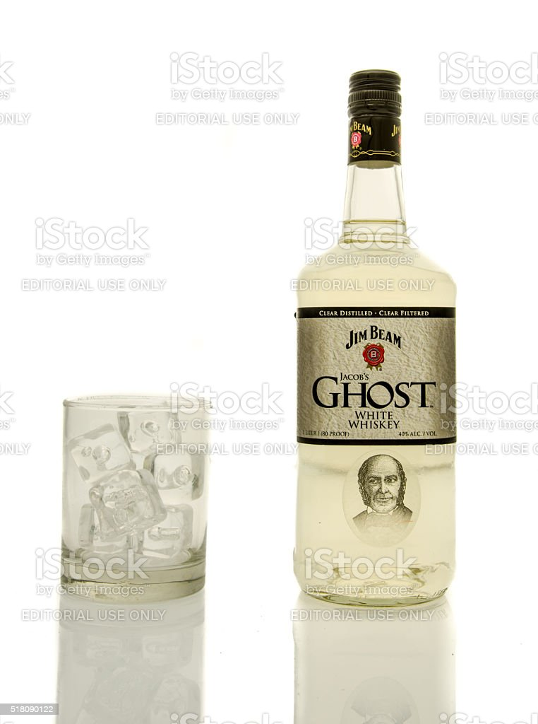 Jim Beam Ghost Whisky stock photo