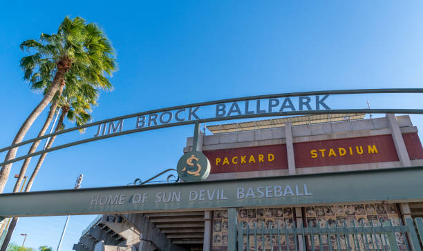 Jim Brock Ball Park and Packard Stadium stock photo