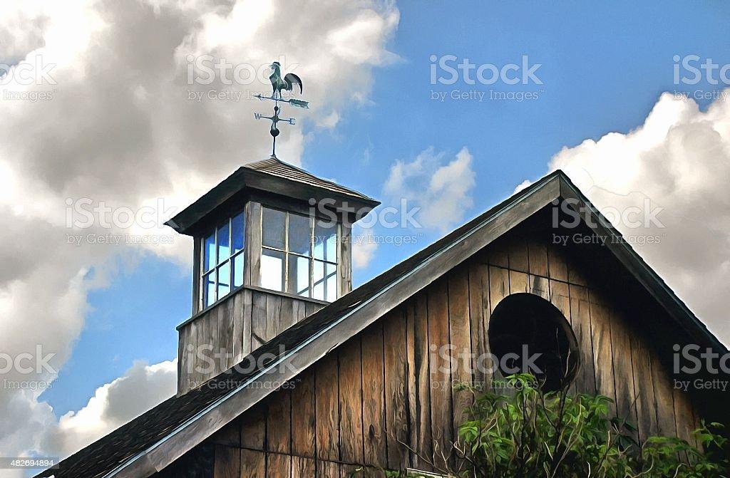 Jim's Barn stock photo