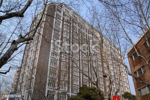 Old fashion Jin Jiang hotel in Huangpu district, Shanghai, China