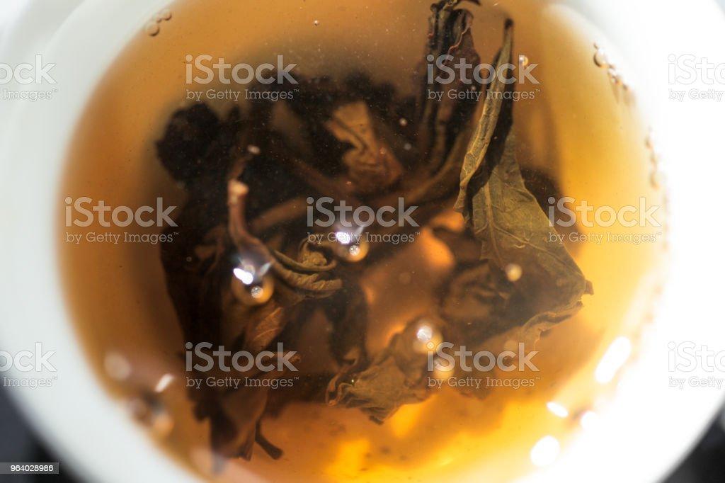ジン Mu ダンが浸漬 - 中国茶のロイヤリティフリーストックフォト