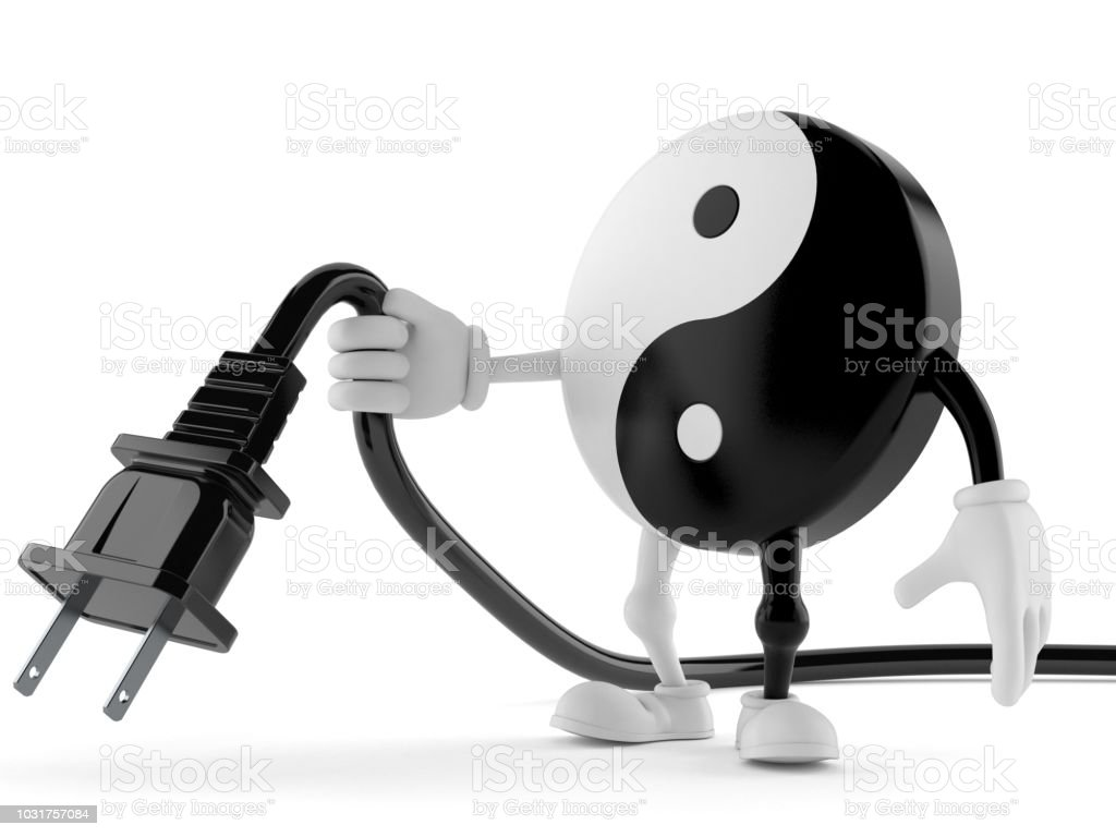 Jing Jang Character Holding Electric Cable Stock Photo Download Image Now Istock