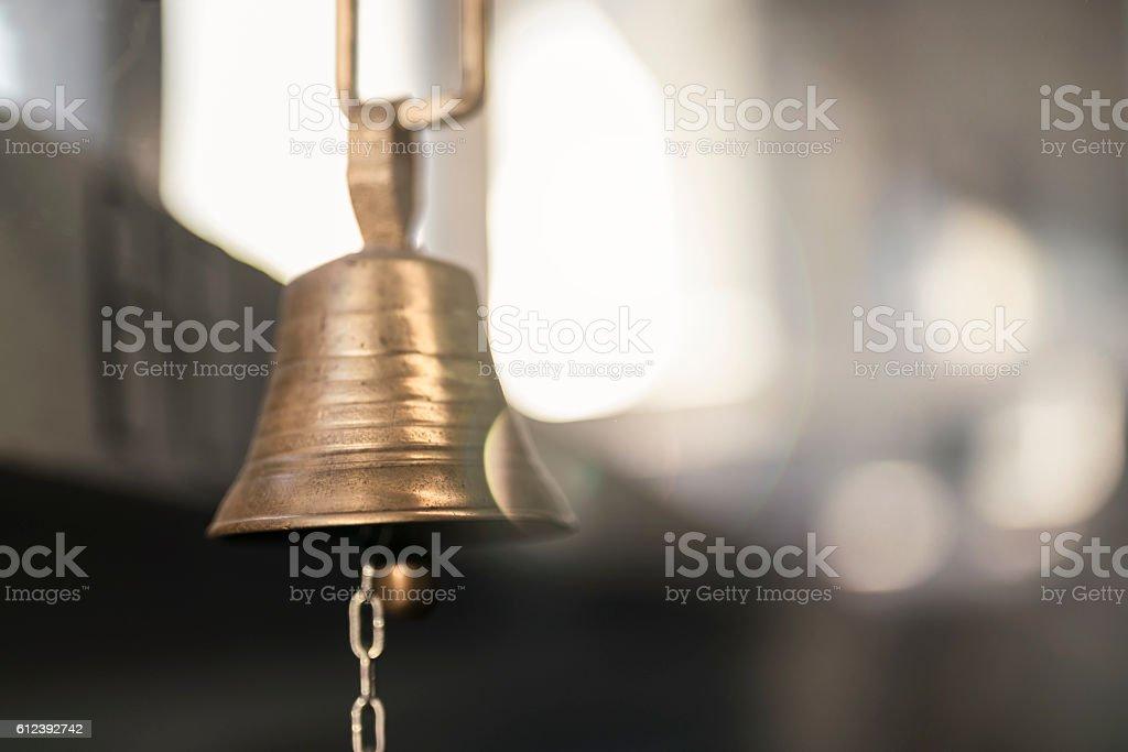 Jingle bell stock photo