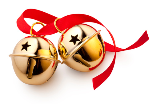 Jingle bells with red bow.Similar photographs from my portfolio: