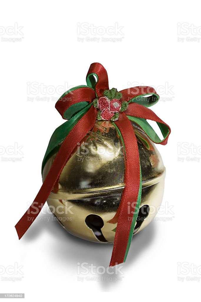 Jingle or Sleigh Bell stock photo