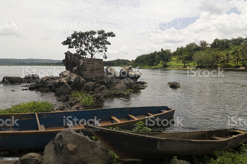 Jinja, Source of the White Nile royalty-free stock photo