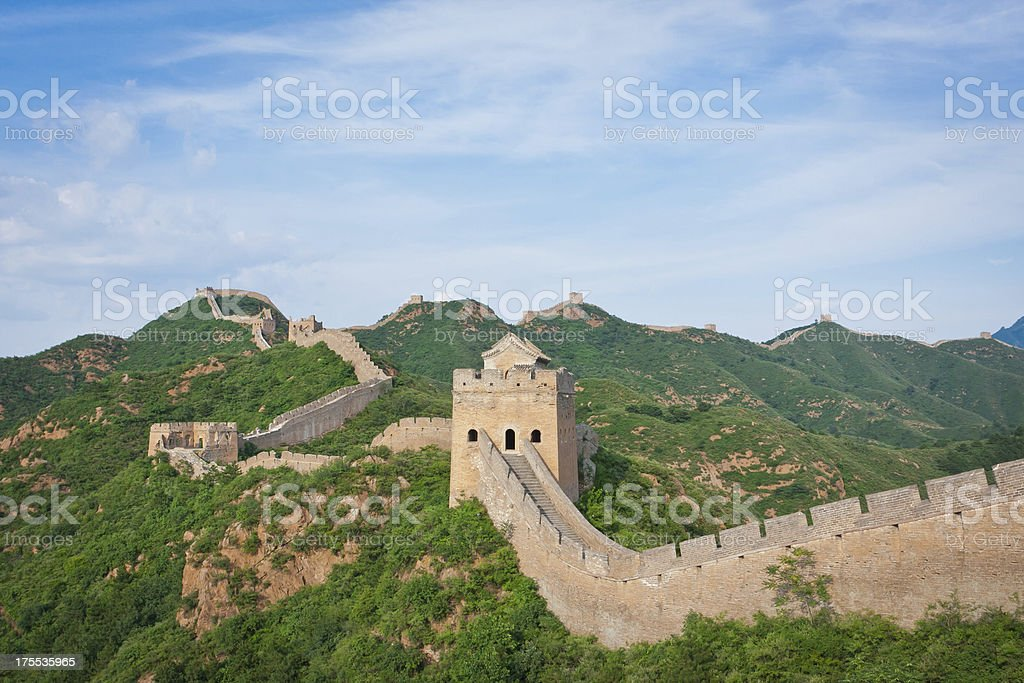 Jinshangling Great Wall stock photo