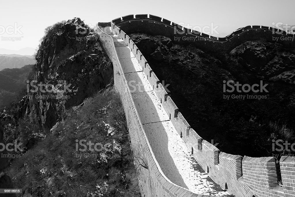 Jinshanling Great Wall royalty-free stock photo