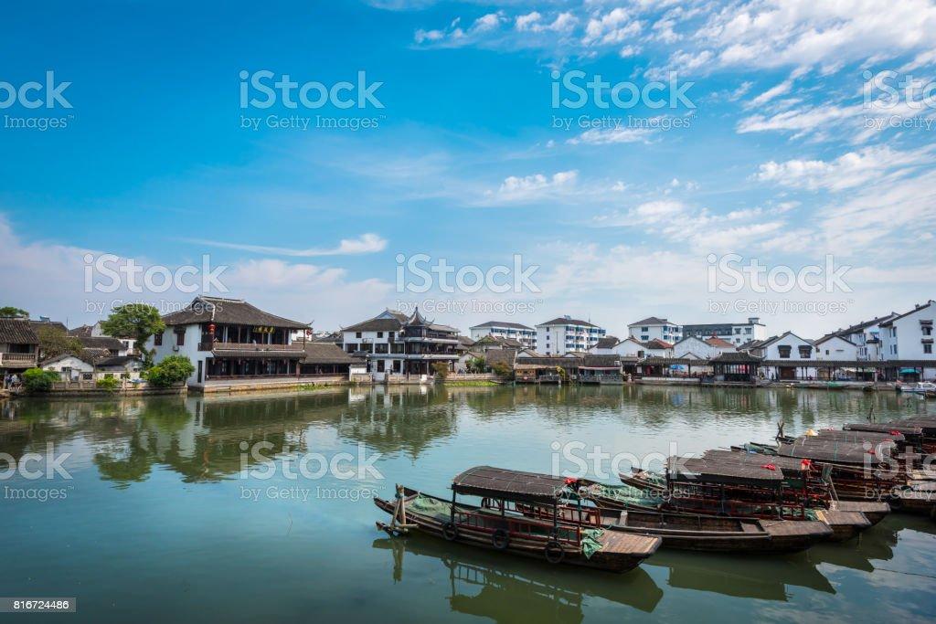 Jinxi ancient town stock photo