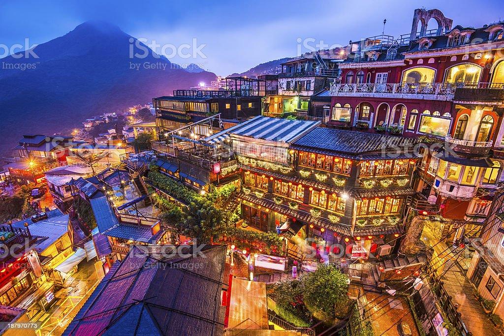 Jiufen, Taiwan stock photo