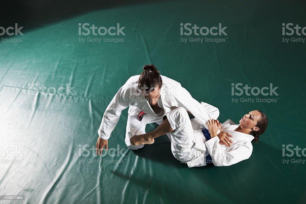 Jiu-Jitsu stock photo