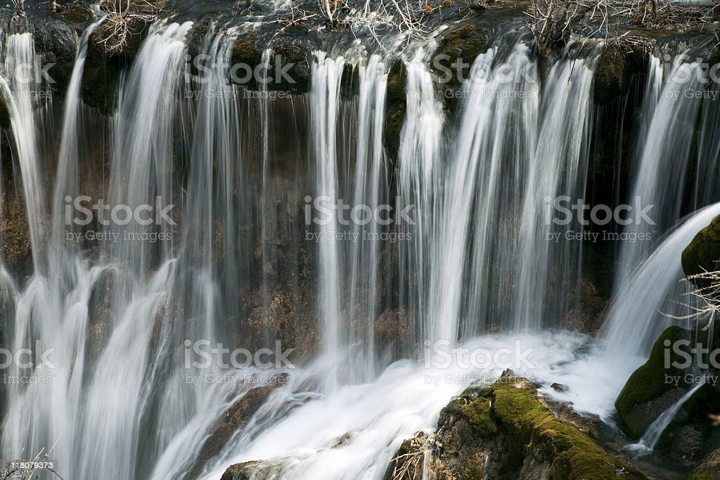 Jiuzhaigou Falls royalty-free stock photo