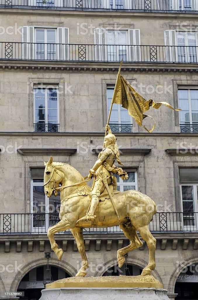 Joan of Arc , Paris, France stock photo