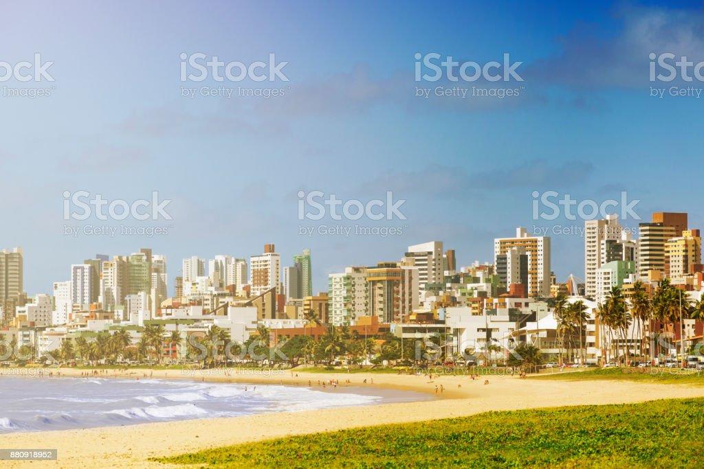 Joao Pessoa, northeast of Brazil stock photo