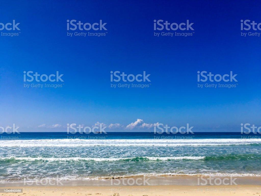 Joaquina Beach in Florianópolis in einem klaren Tag – Foto