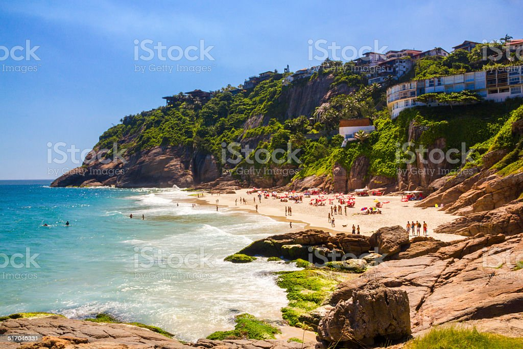Joatinga beach stock photo