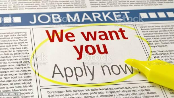 Job ad in a newspaper we want you picture id1069136638?b=1&k=6&m=1069136638&s=612x612&h=godfxnudfhqrship9gp8liju1zbz ml8ydocih14zvu=