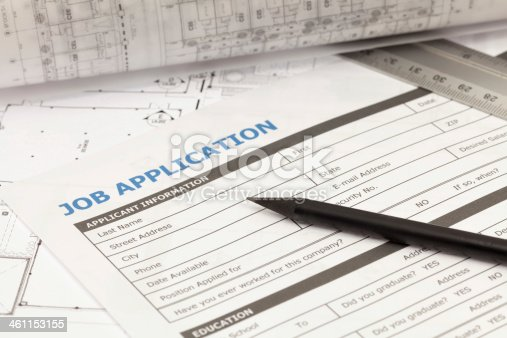 istock Job application 461153155