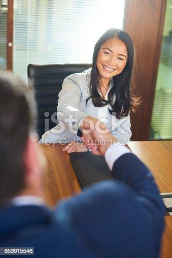 istock job candidate handshake 853915546